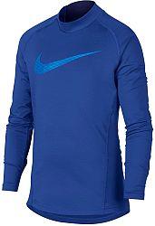 Tričko s dlhým rukávom Nike B NP WM TOP LS MOCK GFX ah3997-480 Veľkosť XL