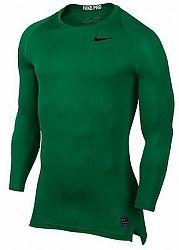 Tričko s dlhým rukávom Nike M NP TOP LS COMP 838077-302 Veľkosť S