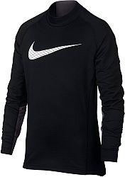 Tričko s dlhým rukávom Nike Pro Warm ah3997-010 Veľkosť XS