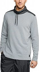 Tričko s dlhým rukávom Under Armour MICROTHREAD TERRY MOCK 1320714-035 Veľkosť L