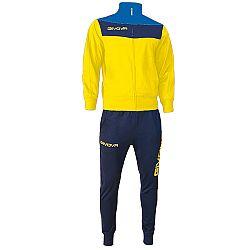 TUTA CAMPO žltá-modrá - XL