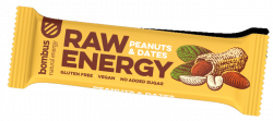 Tyčinka Bombus BOMBUS Raw energy - Peanuts+Dates 50g 11-06