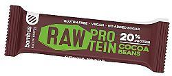 Tyčinka Bombus BOMBUS Raw protein - Cocoa beans 50g 11-31