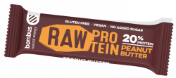 Tyčinka Bombus BOMBUS Raw protein-Peanut butter 50g 11-30