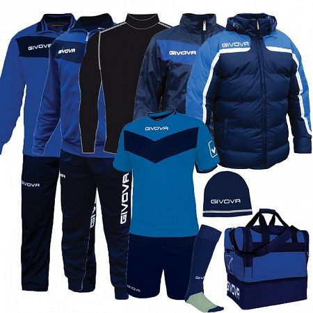 BOX SPECIAL azúrová-modrá - XXL