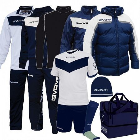 BOX SPECIAL biela-modrá - XL