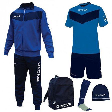 BOX SPORT azúrová-modrá - XXL