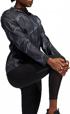 Bunda s kapucňou adidas OWN THE RUN JKT dw5960 Veľkosť L