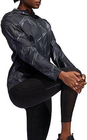 Bunda s kapucňou adidas OWN THE RUN JKT dw5960 Veľkosť XS