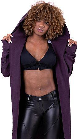 Bunda s kapucňou Nebbia Be Rebel jacket 68105 Veľkosť S