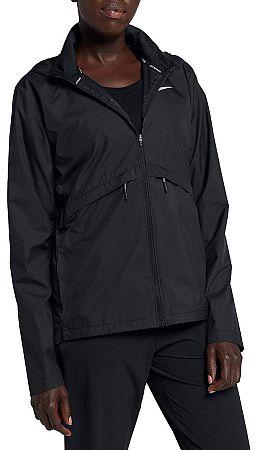 Bunda s kapucňou Nike W NK ESSNTL JKT SSNL 933466-010 Veľkosť L