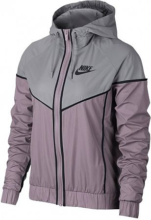 Bunda s kapucňou Nike W NSW WR JKT 883495-695 Veľkosť XL
