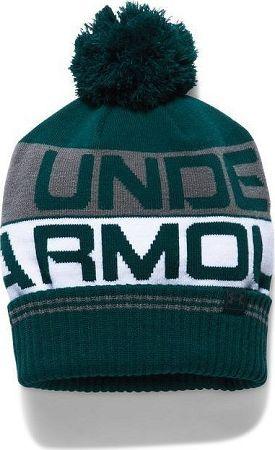 Čiapky Under Armour Men's Retro Pom Beanie 2.0 1300078-919 Veľkosť OSFA