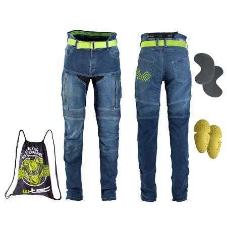 Dámske moto jeansy W-TEC Ekscita