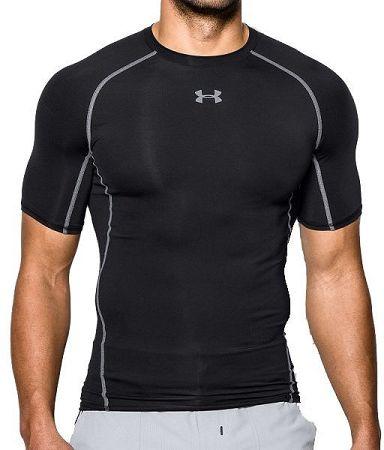 Kompresné tričko Under Armour HG SS 1257468-001 Veľkosť XXL