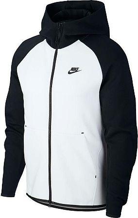 Mikina s kapucňou Nike M NSW TCH FLC HOODIE FZ 928483-100 Veľkosť M