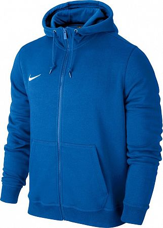 Mikina s kapucňou Nike Team Club Full-Zip Hoodie 658499-463 Veľkosť XL