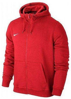 Mikina s kapucňou Nike Team Club Full-Zip Hoodie 658499-657 Veľkosť XS