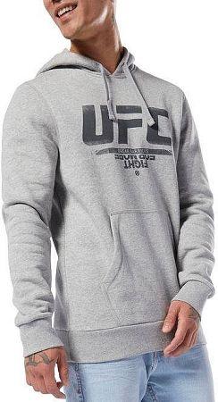 Mikina s kapucňou Reebok UFC FG PULLOVER HOODIE du4577 Veľkosť M