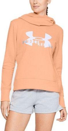 Mikina s kapucňou Under Armour Cotton Fleece Sportstyle Logo hoodie 1321185-906 Veľkosť S/M