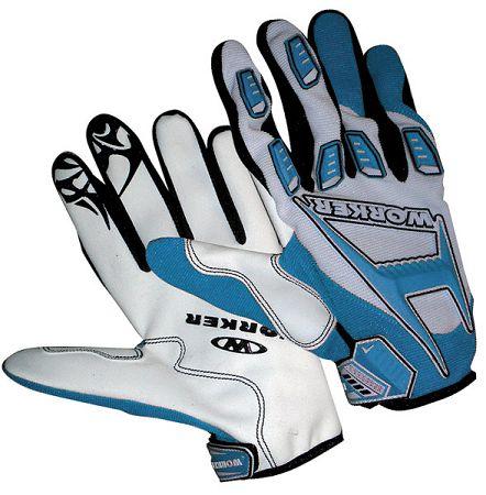 Motocrossové rukavice WORKER MT787
