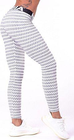 Nohavice Nebbia Boho Style 3D pattern leggings 65803 Veľkosť L