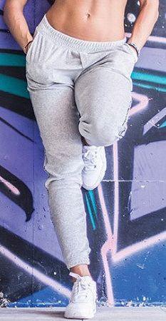 Nohavice Nebbia sweatpan 64903 Veľkosť M