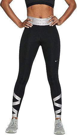 Nohavice Nike W NP CLN TIGHT 7/8 ELASTIC cj0157-010 Veľkosť L
