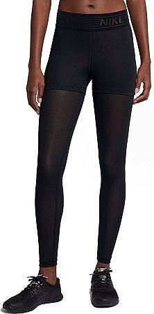Nohavice Nike W NP TGHT DELUXE MESH 932153-010 Veľkosť L