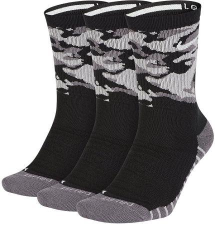 Ponožky Nike U NK EVRY MX CSH CRW 3P-CAMO sx7630-010 Veľkosť S
