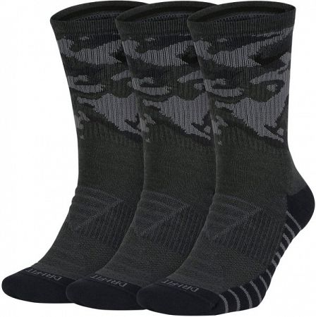 Ponožky Nike U NK EVRY MX CSH CRW 3P-CAMO sx7630-060 Veľkosť XL