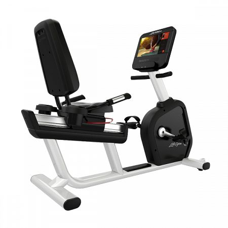 Recumbent Life Fitness Integrity D Base Discover SE3HD