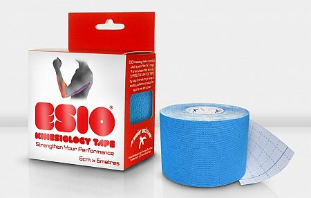 Tejpovacia páska ESIO ESIO KINESIOLOGY TAPE 50mm esio-kinezio-50-sky Veľkosť OSFM