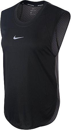 Tielko Nike W NK CITY SLEEK TANK COOL aq5161-010 Veľkosť L