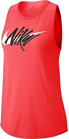 Tielko Nike W NK DRY LEG TANK TOM SWOOSH aq3214-850 Veľkosť S
