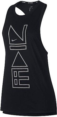 Tielko Nike W NK TAILWIND TANK FLSH aq8055-011 Veľkosť L