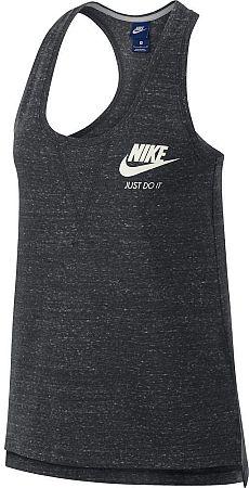 Tielko Nike W NSW GYM VNTG TANK 883735-060 Veľkosť S