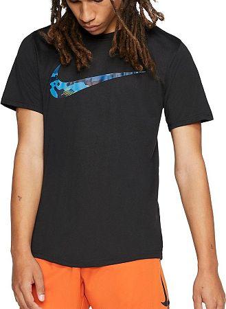 Tričko Nike M NK DRY LEG TEE CAMO SWSH 923500-014 Veľkosť M
