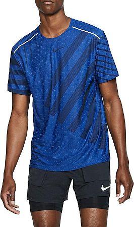 Tričko Nike M NK TECH KNIT COOL SS NV bv4687-405 Veľkosť L