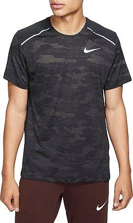 Tričko Nike M NK TECHKNIT SS NV bq5432-010 Veľkosť L