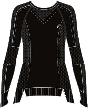 Tričko s dlhým rukávom Asics SEAMLESS LS 154545-001 Veľkosť L
