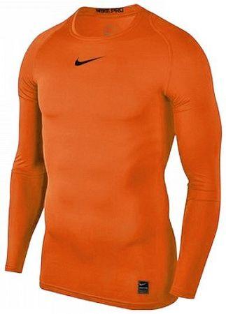 Tričko s dlhým rukávom Nike M NP TOP LS COMP 838077-819 Veľkosť M