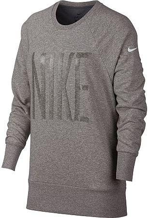 Tričko s dlhým rukávom Nike W NK DRY TOP CREW GRX HO 929684-063 Veľkosť L