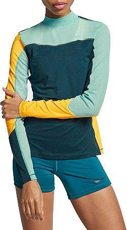 Tričko s dlhým rukávom Nike W NP SRF SPT HPRCL TOP LS ar6699-304 Veľkosť L