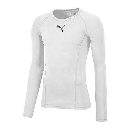 Tričko s dlhým rukávom Puma liga baselayer f04 655920-004 Veľkosť XXL