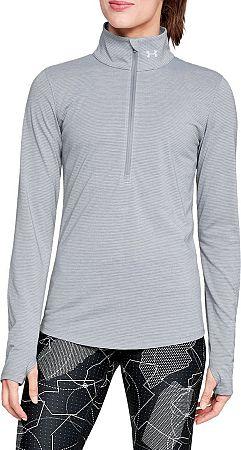 Tričko s dlhým rukávom Under Armour Threadborne Streaker Hlf Zp 1271525-036 Veľkosť M