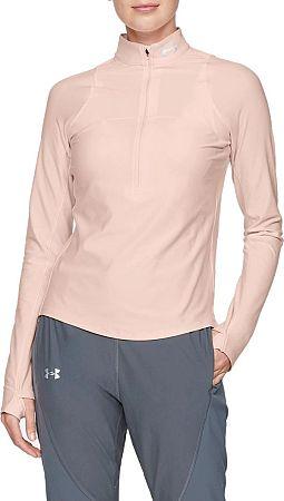 Tričko s dlhým rukávom Under Armour UA Qualifier Half Zip 1326512-805 Veľkosť M