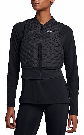 Vesta Nike W NK AROLFT VEST CROP aa3575-010 Veľkosť M
