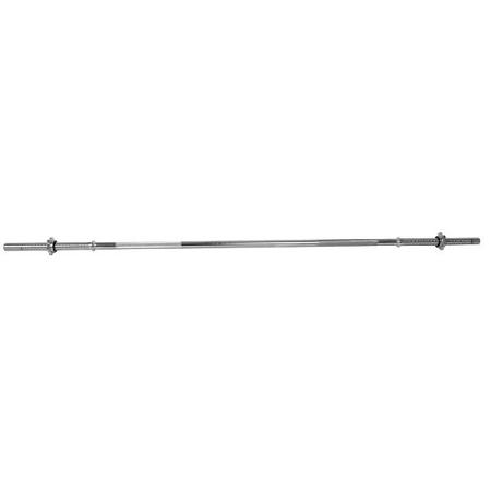 Vzpieračská tyč inSPORTline - rovná 160cm / 30mm RB-63T so závitom